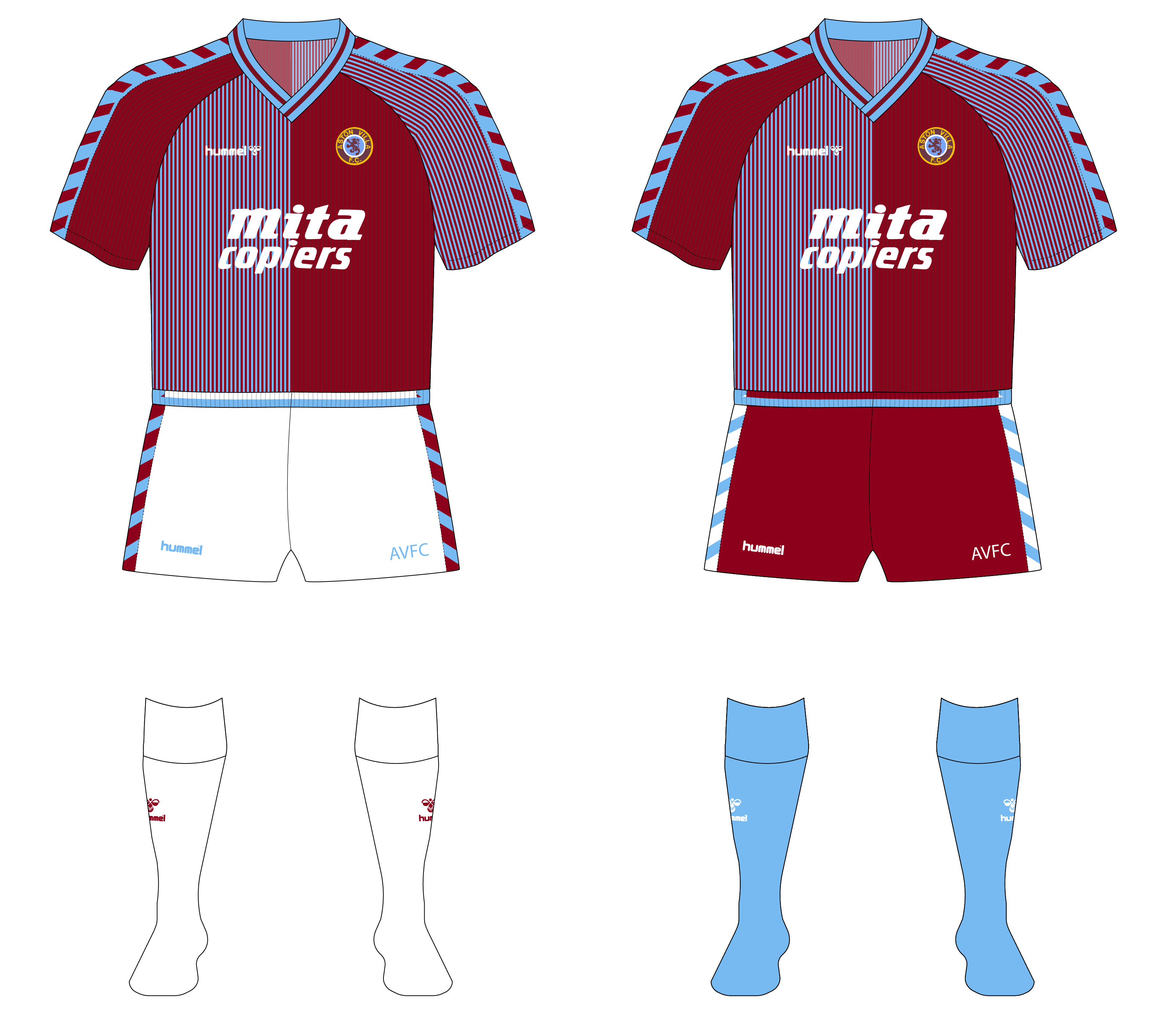 Aston Villa Short Changed In The 1980s Part 2 Museum Of Jerseys