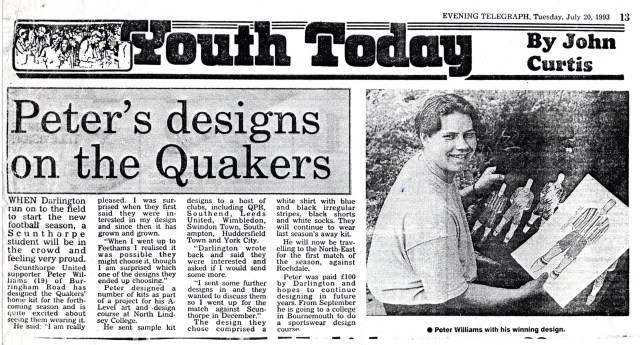 Scunthorpe Evening Telegraph July 20 1993
