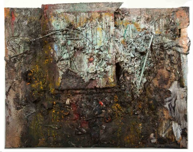 Michael_David_Cluster of Blessings_Encaustic-and-Mixed-Media-on-Panel_2008-2013_WEB