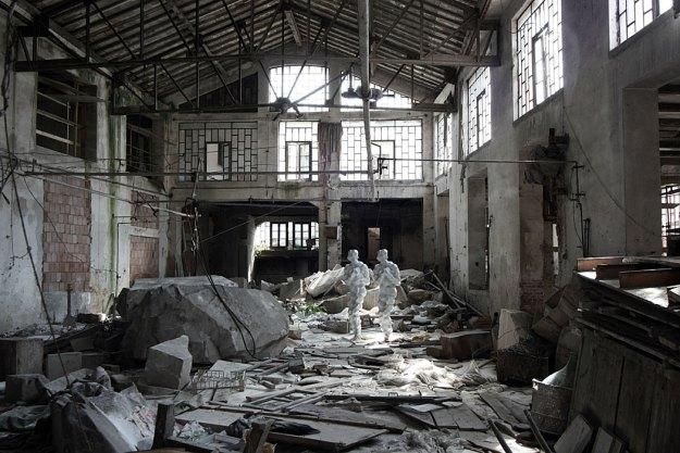 Antony Gormley, 2 x 2 (2010), Italy