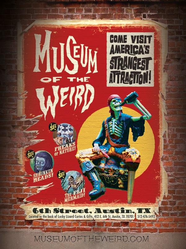 Museum Of The Weird Austin 1