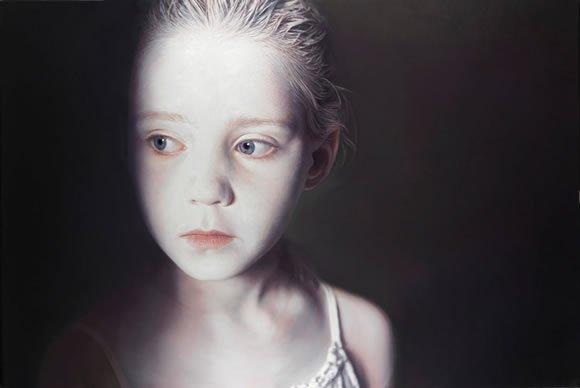 Gottfried Helnwein, The Murmur of the Innocents 3, 2009.