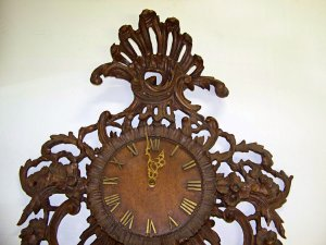 Antique Carved Clock Repair
