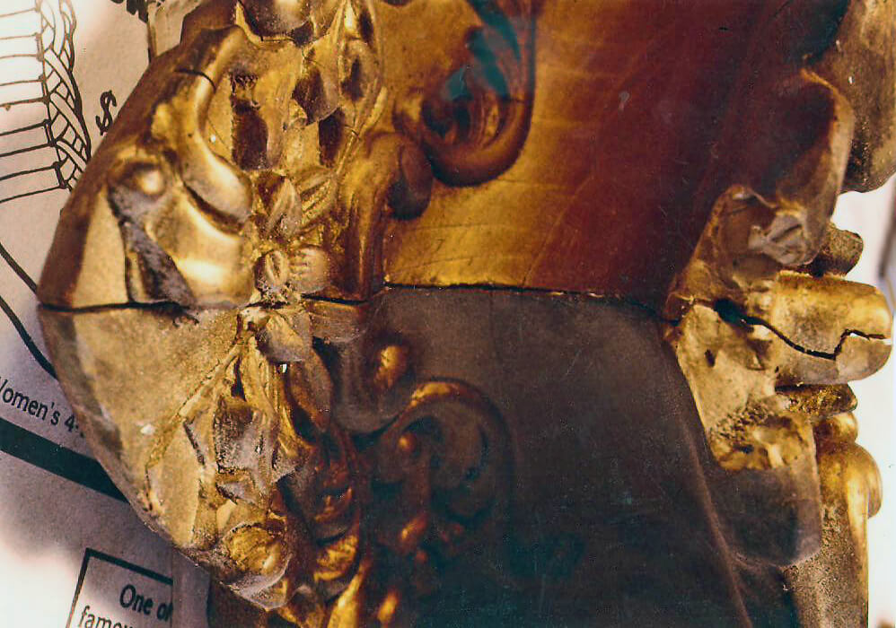 Carved Mirror Frame Restoration Museum Quality