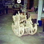 Carved Rocking Chair Repair