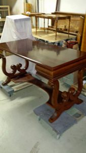 Cherry Wood Writing Desk