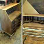 Refinished Antique Secretary Desk 04