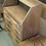 Refinished Antique Secretary Desk 10