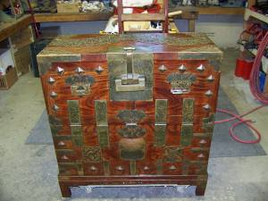 Oriental Warrior Chest Repair