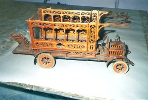 Wooden Trolly Car Restoration
