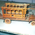 Wooden Trolly Car Restoration