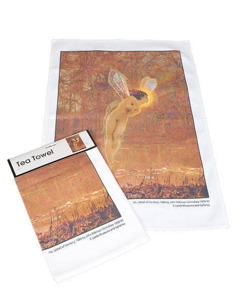 Iris Tea Towel pic