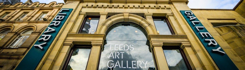 Leeds Art Gallery front entrance
