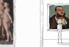 """Schloss Wilhelmshöhe – Trickfilm zu: """"Bild und Botschaft. Cranach im Dienst von Hof und Reformation"""""""