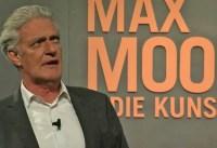 Max Moor & die Kunst – Gespräche über Kunst, Kultur und Gesellschaft
