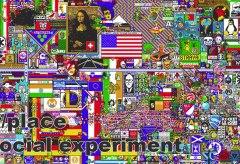 Das kollaborative Kuntprojekt Reddit Place
