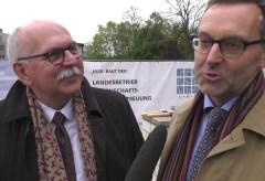 Grundsteinlegung für den Neubau des Römisch-Germanischen Zentralmuseums