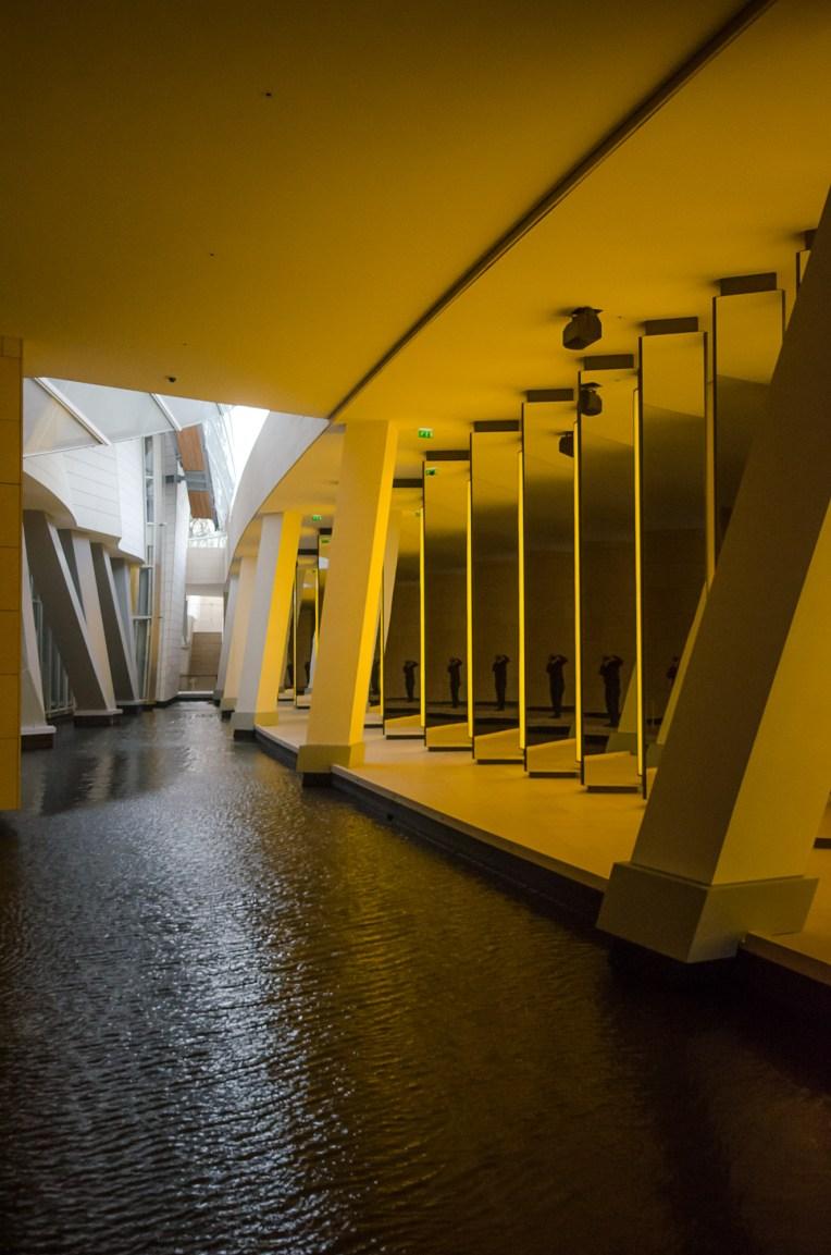Louis Vuitton Foundation - Olafur Eliasson (Inside the horizon, 2014)