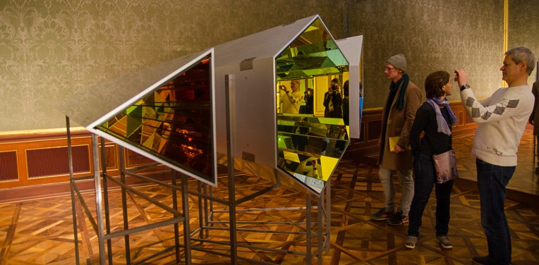 "Seu planeta compartilhado (Your shared planet), 2011 ""Olafur Eliasson: BAROQUE BAROQUE"" at Belvedere Museum, Winter Palace of Prince Eugene of Savoy, Vienna"