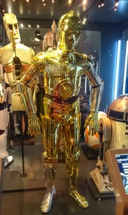 Star Wars Identities - THE EXHIBITION The famous robot human communicated droid who became famous as the perfect match of R2D2. C-3PO was made by Anakin Skywalker.