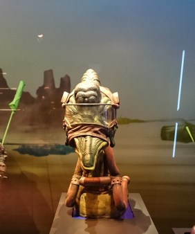 Star Wars Identities - THE EXHIBITION Model of one of the many creatures made for the Star Wars universe.