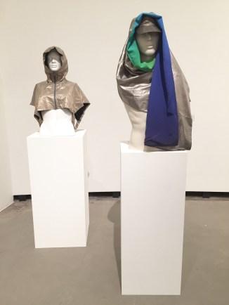 Exhibition view: Adam Harvey's Stealth Wear