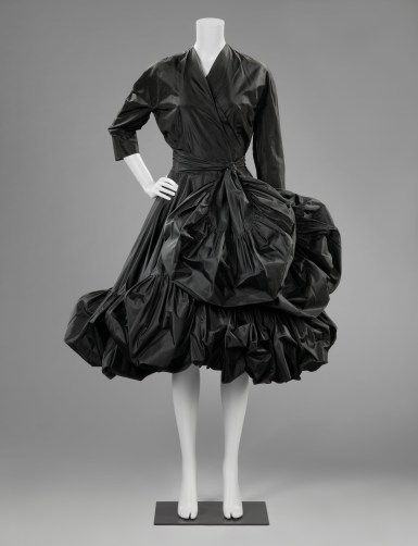 Cocktail dress, Cristóbal Balenciaga (1951-1952) | (c) Rijksmuseum