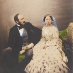 The Prince and the Queen, 1854, Roger Fenton, salted paper print, hand colored. Royal Collection Trust/© Her Majesty Queen Elizabeth II 2013