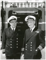 Captain H.G. Robertson and Captain E.G.K. Meatyard, 31 October 1966
