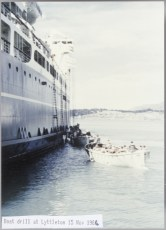 Lifeboat drill at Lyttleton 15 Nov 1966