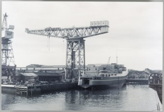 TEV Wahine at Fairfield, Glasgow, taken about July/August 1965