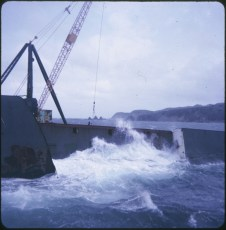 Stormy weather about the TEV Wahine wreck