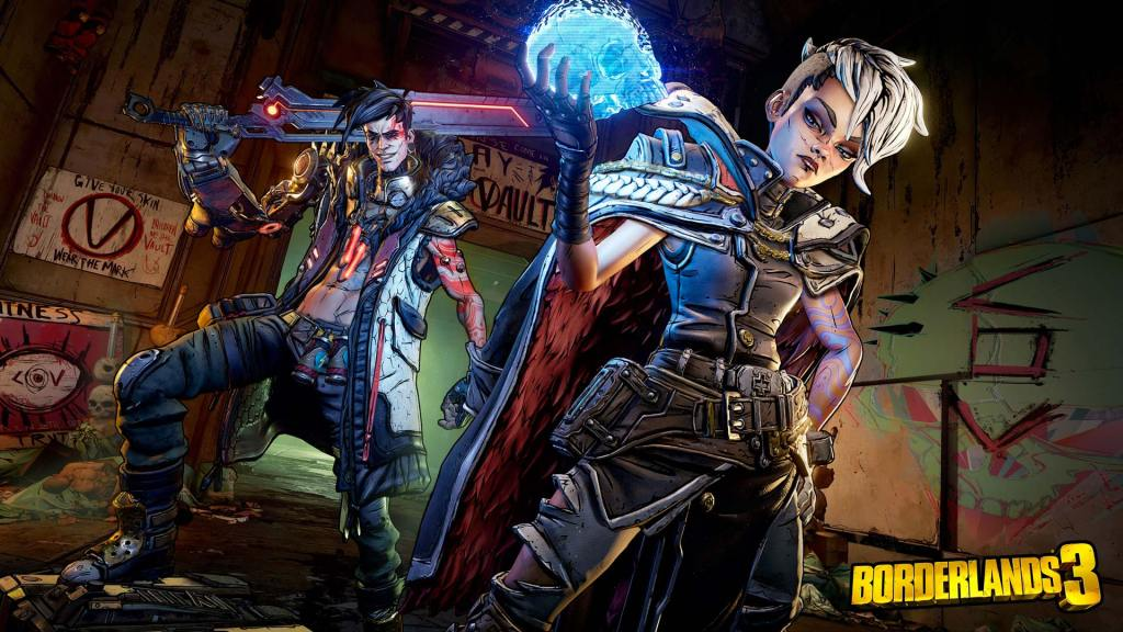 borderlands 3 personnages