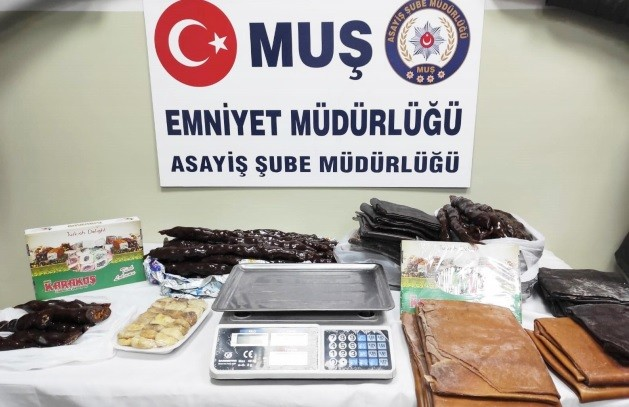 Muş'ta hırsızlık suçundan 4 kişi gözaltına alındı