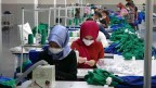Muş'ta tekstil kent açıldı, gençler işbaşı yaptı