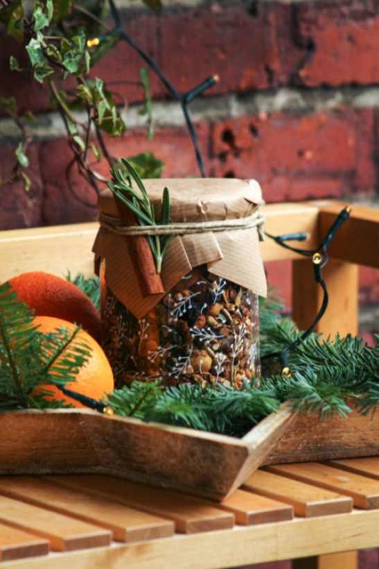 Christmas Gift Ideas granola-jar