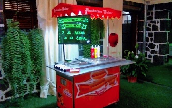 Alquiler de carro de perritos en Tenerife, para bodas y eventos
