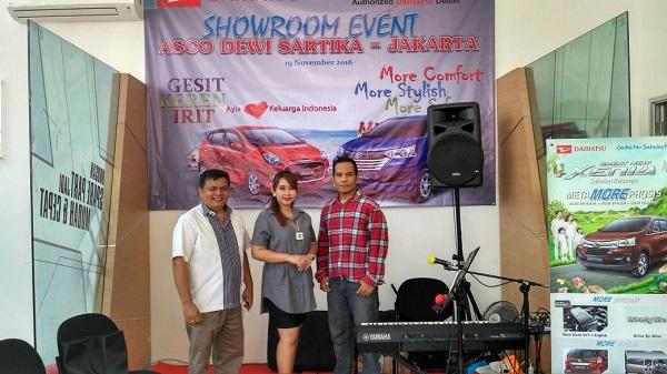 music-rental.com - Sewa Organ Tunggal Showroom Event Daihatsu.