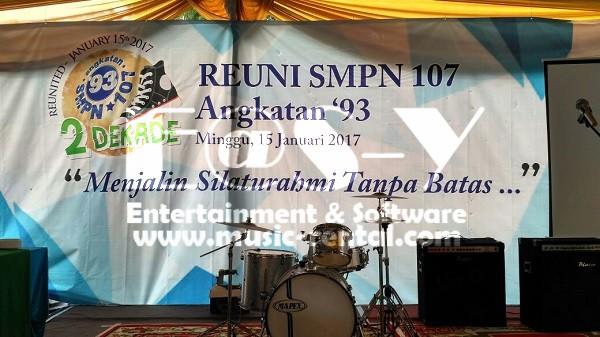Sewa Organ Tunggal Acara Reuni Sekolah di Jakarta - SMPN 107 Angk 93