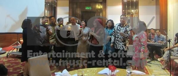Sewa Organ Tunggal Acara Serah Terima Jabatan PT TWC Saripan Pacific Hotel Jakarta1