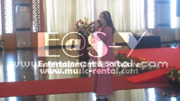 Sewa Organ Tunggal Anniversary Perusahaan Lion Air.