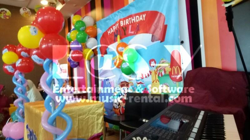 Sewa Organ Tunggal Birthday Party Anak 7Th