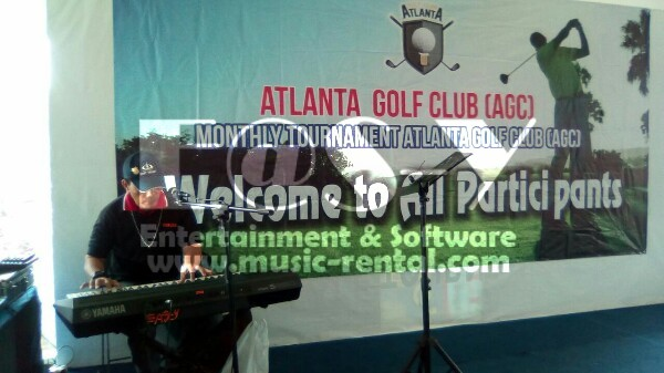 Sewa Organ Tunggal Acara Gathering Club Golf AGC