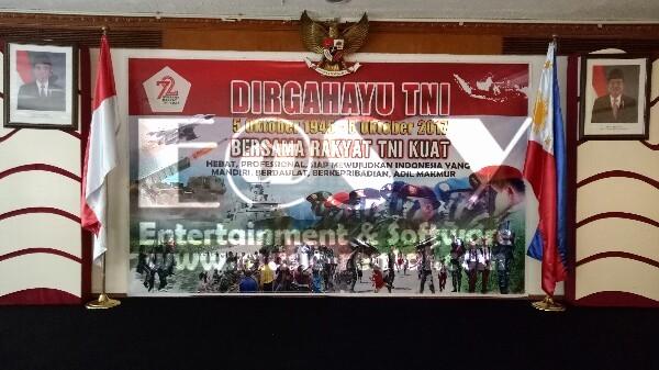 Sewa Organ Tunggal Acara HUT TNI di Kedubes RI Manila