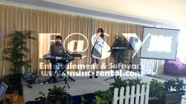 Sewa Organ Tunggal Acara Sertijab PT. PLN di Resto Segarra Ancol Jakarta