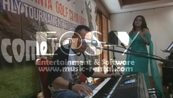 Sewa Organ Tunggal Anniversary Komunitas Golf di Halim Jakarta Timur.