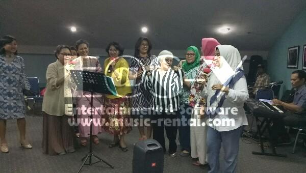 Sewa Organ Tunggal HUT PSAUI di Wisma Bayuadji Jakarta Selatan