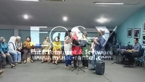 Sewa Organ Tunggal HUT PSAUI di Wisma Bayuadji JakSel