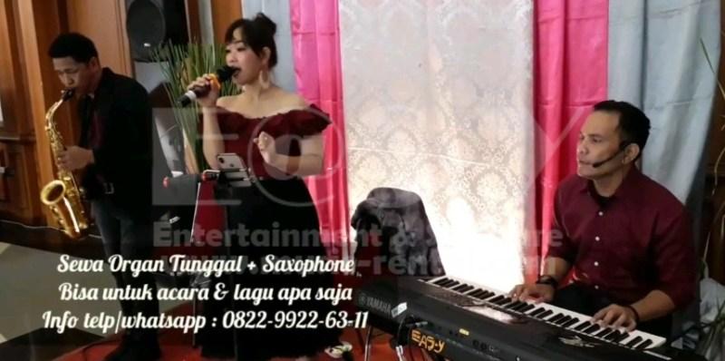 Sewa Organ Tunggal Pernikahan dengan Saxophone di Pondok Gede Jakarta Timur