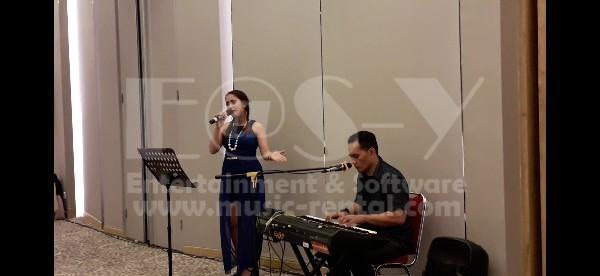 Sewa Organ Tunggal Malam Keakraban Penghuni Apt. TA Residence Jakarta Barat